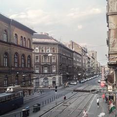 Les rues animées de Budapest