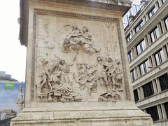 The Monument, Monument to the Great Fire of London, Monument, City of London (PaChambers) Tags: uk england london monument europe gb cityoflondon greatfireoflondon