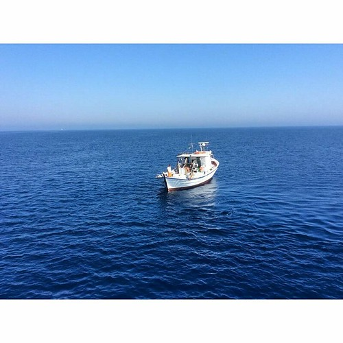 In the open sea! #ribcruises #summer #sea
