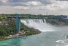 Bridal Veil Falls (HaVoC Studios) Tags: from new york newyork ontario canada island niagarafalls veil united side border goat canadian niagara falls luna international american waterfalls gorge horseshoe states bridal largest smallest straddle