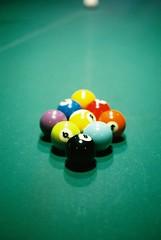 (mizukichi.) Tags: color film 35mm ball billiards
