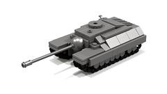 T28/95 mini tank (T28) (Tamas090) Tags: ustankdestroyer ustank t28tank legominitank t2895 t95tank minilegotankdestroyer