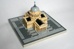 LEGO Pantheon 2 (xtitus) Tags: lego micro pantheon paris architecture