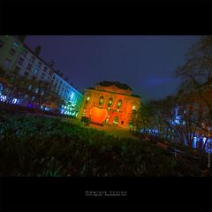 Fête des lumières 2016 | Lyon (dominikfoto) Tags: fetedeslumières lyon theatredescelestins coeur hearth red rouge