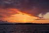 Subtle Sun Pillar... (deanspic) Tags: sunpillar stlawrenceriver sunset winter longsault ontario g3x