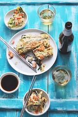 pajeon party (*steveH) Tags: pajeon koreanfood asianfood korea savory lunch steveh