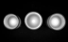2017_013 (Chilanga Cement) Tags: fuji fujix100t x100t xseries x100s x100 bw blackandwhite monochrome candle candles darkness three tri circles electric remote remotecontrol batteries