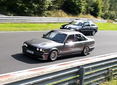 BMW 5er E34 (911gt2rs) Tags: nürburgring nurburgring nordschleife rennstrecke bimmer 520i 525i 535i m5 530i grau grey tief stance tuning bbs wheels felgen