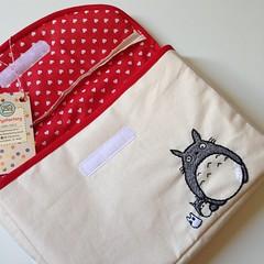 Totoro (Carol Grilo • FofysFactory®) Tags: livro book portalivro fofysfactory carolgrilo totoro bordado handmade craft embroidery special