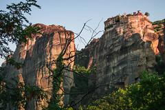 Holy Monastery of Great Meteoron (Yassi Bahri) Tags: greece meteora holy monastery meteoron trees green landscape