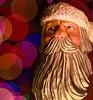 Ho Ho Ooops! (johnsinclair8888) Tags: macromondays bokeh santa carving nikon sigma art christmas holiday holidaybokeh christmaslights light macro 105mm