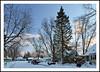 A Wintry Sunday Evening in Ypsilanti, Michigan (sjb4photos) Tags: michigan ypsilanti washtenawcounty sunset winter