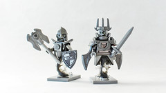 CCC XIV Knight & Squire (11inthewoods) Tags: lego lotr lordoftherings castle custom ccc minifig minifigs minifigures king knight squire
