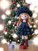 Merry Christmas! (Lenekie) Tags: amigurumi doll toy crochet handmade