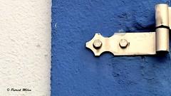 Blue (patrick_milan) Tags: minimalism fenêtre porte detail bleu lue door window balcony balcon building structure roof toit immeuble architecture patrimoine pierre stone rock sign affiche label gate portail wall mur escalier stairs saariysqualitypictures volet shutter