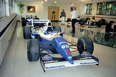 Nigel Mansell's 1994 Williams-Renault FW16B - Williams Grand Prix Collection, October 1996 (Dave_Johnson) Tags: rothmans elf nigelmansell mansell red5 redfive fw16 fw16b williams renault frankwilliams williamsf1 williamsgrandprixengineering williamsheritagecollection williamsgrandprixcollection formula1 formulaone f1 grandprix museum collection grove wantage car racingcar automobile