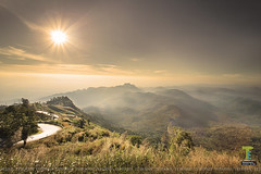 the first morning light.....at phuthapboek in thailand (teberrie) Tags: sunrise morning 6d thailand travel nature landscape sun light lighting mountain phuthapboek tour guide