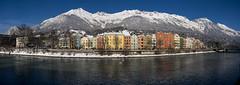 Innsbruck Mariahilf 16 (Lucien30) Tags: innsbruck tirol österreich landschaft nordkette karwendel gebirge karwendelgebirge schnee winter mariahilf panorama pano