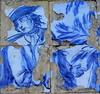 Fragmentos da vida dos nobres (Américo Meira) Tags: portugal caxias oeiras quintareal azulejo partido azul branco nobreza