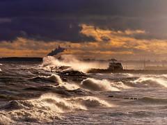 Sturm an der Ostsee -Kühlungsborn- (sabine1955) Tags: cloudy day balticsea ostsee stormy