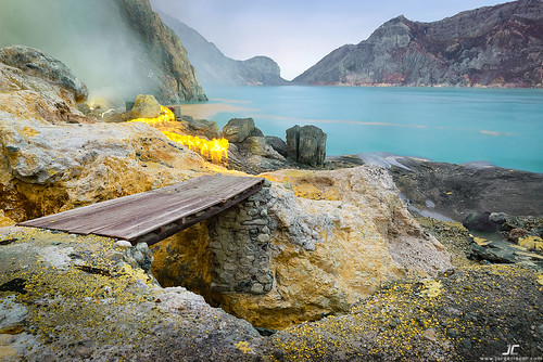 Ijen Crater working area