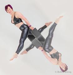 Patsy Photoshoot (andrew.varney) Tags: woman patsy shiny sexy fitness workout exercise reflection nikon d5100 studio indoors photoshoot