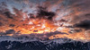 Explosion of light (RainerSchuetz) Tags: sunrise sunup alps clouds mountain
