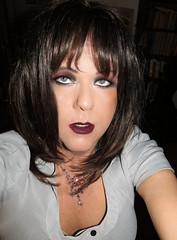 Did I scare you? :-) (Irene Nyman) Tags: irene nyman dutch transvestite vampire makeup dark lips eyes crossdresser holland transsylvania irenenyman dutchtgirl blueeyes cilf