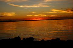 SUNRISE 01/17/2017 (R. D. SMITH) Tags: sunrise river floeida morning water dawn shore orange sky brevaedcountyforida indianriver melbourneflorida