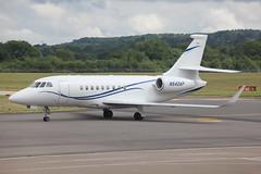 Falcon 2000EX N542AP (Paul C Dunn) Tags: southampton eghi 25615