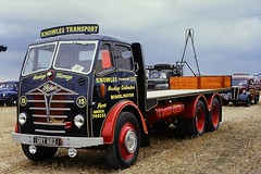 1950 FODEN GRY683 (Xdriver2) Tags: truck transport knowles flatbed foden rigid 6wheeler sg6 gry683