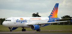 Airbus A-320 N224NV (707-348C) Tags: dublin airbus delivery passenger dub airliner a320 jetliner airbusa320 allegiant eidw n224nv