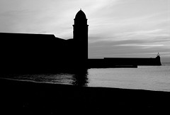 COLLIOURE NOTRE DAME DES ANGES CHURCH BLACK AND WHITE (patrick555666751 THANKS FOR 5 000 000 VIEWS) Tags: collioure black and white patrick roger france europe pyrenees orientales church eglise flickr heart group notre dame des anges noir et blanc blanco y negro bianco e nero schwarz und weiss preto branco cotlliure pays catalan paisos catalans roussillon catalogne europa cote vermeille bell tower clocher catalunya nord i negre mediterranee mediterraneo mediterranean catalonia patrickroger patrick555666751 patrick55566675