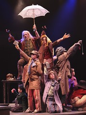 Ron Wisniski and the Music Circus Junior Company in Oliver! at Music Circus July 19-24. Photo by Charr Crail.