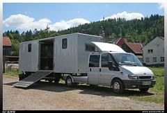 Ford Transit (uslovig) Tags: horses horse ford truck camion transit trailer pferde pferd lkw laster 2015 lastkraftwagen mitwitz pferdeanhänger auflieger gestüt guntermann reitertage
