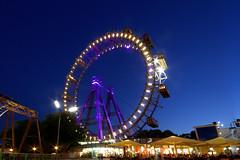 Prater Riesenrad, Wien / Vienna. (joseph_donnelly) Tags: vienna wien night lights austria abend sterreich famous bigwheel riesenrad prater thirdman orsonwells