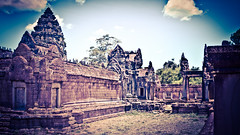 2015-05-22 Cambodia Day 3, Banteay Samre Temple, Siem Reap (Qsimple, Memories For The Future Photography) Tags: old travel building tower art heritage tourism monument nature stone wall architecture asian religious temple design artwork ancient ruins asia cambodia cambodian khmer natural outdoor antique buddhist traditional famous religion ruin culture buddhism places landmark structure historic sacred thom civilization siemreap angkor wat hinduism archeology religions sculptures bayon prohm 2015 prasat camera:make=canon exif:make=canon exif:lens=ef24105mmf4lisusm geo:state=siemreap exif:focallength=24mm exif:aperture=ƒ10 qsimple geo:country=cambodia camera:model=canoneos600d exif:model=canoneos600d exif:isospeed=200 geo:city=prasatbakong geo:lat=1344247167 geo:location=810 geo:lon=10395938667