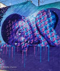 Street art Chris soria NYC (ZUCCONY) Tags: street nyc newyorkcity streetart ny newyork art love graffiti calle arte unitedstates bobby rue 2015 zucco wellingcourtmuralproject bobbyzucco pedrozucco