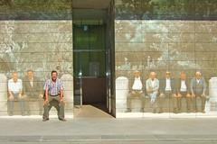 Pasado y presente, Alcalá la Real (eustoquio.molina) Tags: people selfportrait real la gente monumento jaén molina alcalá jubilados eustoquio