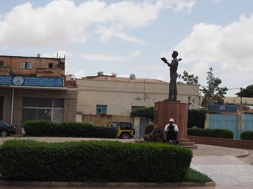 Pushkin statue, Asmara