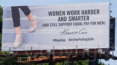 Kenneth Cole Billboard on the Henry Hudson Parkway, New York City (jag9889) Tags: nyc newyorkcity usa ny newyork sign advertising poster shoe women unitedstates outdoor harlem manhattan text unitedstatesofamerica ad banner billboard advertisement henryhudsonparkway kennethcole 2015 jag9889 20150710