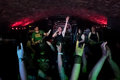 """Mordred at Bannermans / Edinburgh (""""Pictures in Blood"""" by Bart Masiukiewicz) Tags: sanfrancisco music metal edinburgh live hardcore funk bannermans mordred nikond810 bartmasiukiewicz picturesinblood"""