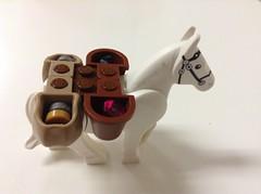 Lego Ideas   Newer packhorse (ootkaman) Tags: horse tree robin treasure lego pack hood jewels sherwood mocs moc trysting