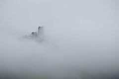 Drachenfels (aperture one) Tags: bonn burg deutschland drachenfels germany nebel nordrheinwestfalen castle fog