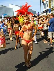 FNK_0527 (Graham  Sodhachin) Tags: samba cosplay parade boxing dreamland margate 2015 blocofogo margatecarnival paraisosambaschool margateyachtclub greatbritishcarnival margatefestivaltribes hornetsboxingclub thanetcosplay