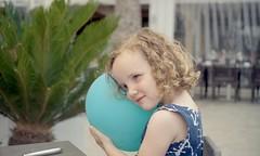 My Balloon (Rolroo) Tags: portrait people film 35mm 50mm child pentax kodak balloon german f m42 spotmatic portra f35 screwmount portra400 kodakportra spotmaticf filmisnotdead meyergörlitz 50mmf35 primotar vintagelenses newportra