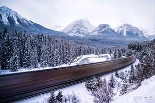 Speed | Morant's Curve, Canadian Rockies