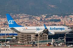 Air Europa B737-85P EC-MKL (José M. Deza) Tags: 20161207 30años aireuropa b73785p bcn boeing ecmkl elprat lebl planespotting spotter aircraft