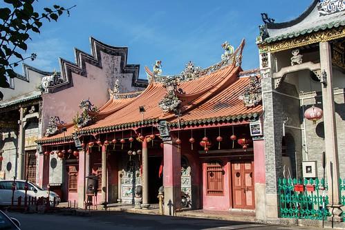 Thai Pak Koong Temple.