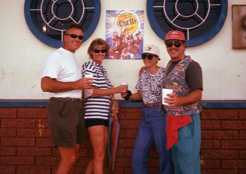 Gey, Deborah, Deb and Willie Trinidad Carnival